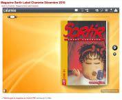 Feuilleteur :: Version électronique du magazine Sortir16, interactive et enrichie de liens et vidéos
