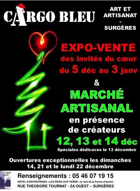Découvrez les événements de décembre au Cargo Bleu à Surgères...