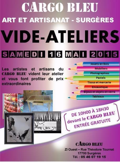 Affiche vide-ateliers mai 2015