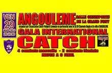 Gala de catch :: L'affiche
