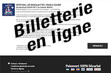 Insolantes 2017 billetterie