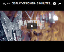 Display of Power - 5 minutes alone (Pantera cover)