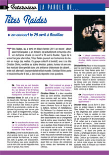 interview de Têtes Raides