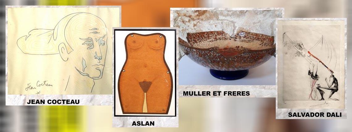 Vente Emmaüs : tableaux de maitres et bibelots rares à Saint-Agnant