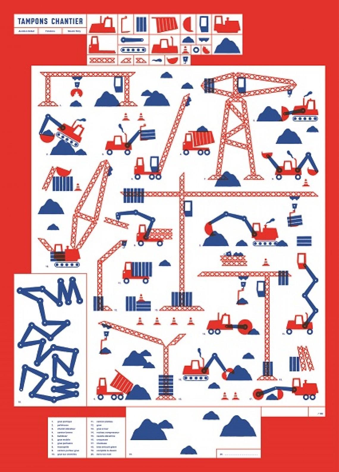 Atelier tamponne ta ville (enfants à partir de 6 ans)