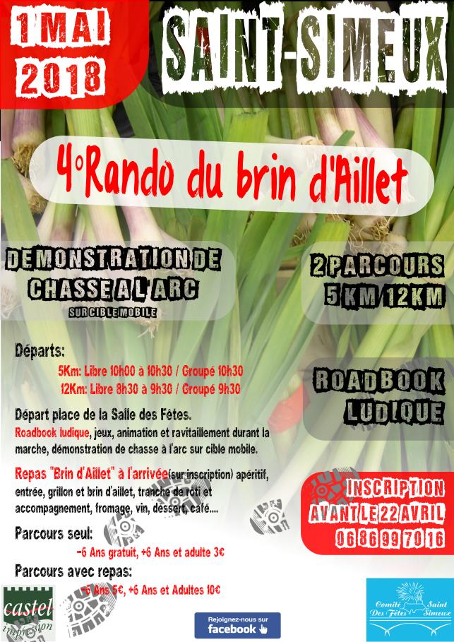 Brin d'Aillet 2018 Affiche A4